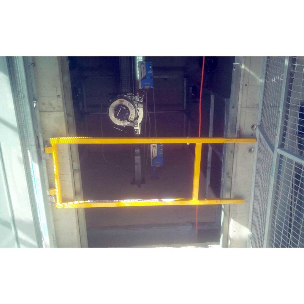 Safety Barrier yellow